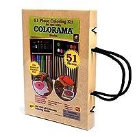 Lápices de colores Colorama - Kit de colores con estuche - 51 piezas