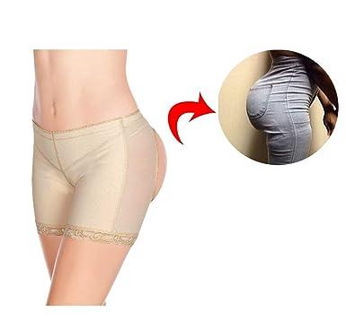 3a4da60d8e2 FOCUSSEXY Women s Butt Lifter Underwear Boy Short Panties Booty Enhancer  Shapewear at Amazon Women s Clothing store