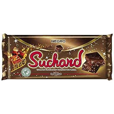 Suchard - Turrón Chocolate Negro, 260 g: Amazon.es: Alimentación y bebidas
