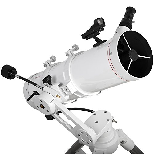 Explore Scientific FL-N130600MAZ01 Newtonian Telescope with Twi 1, 130mm, White by Explore Scientific