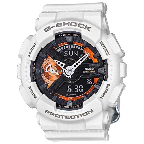 Casio-G-Shock-Black-Dial-Resin-Quartz-Mens-Watch-GMAS110CW-7A2