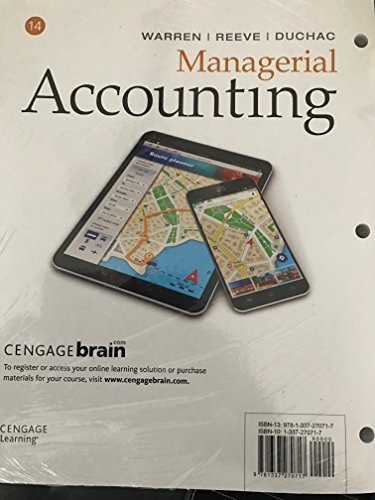 Download Managerial Accounting Loose Leaf Version Book Pdf Audio
