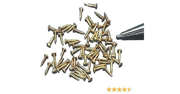 """Miniatures 1//8/"""" Brass Brads approx 60 CK1021-1"""