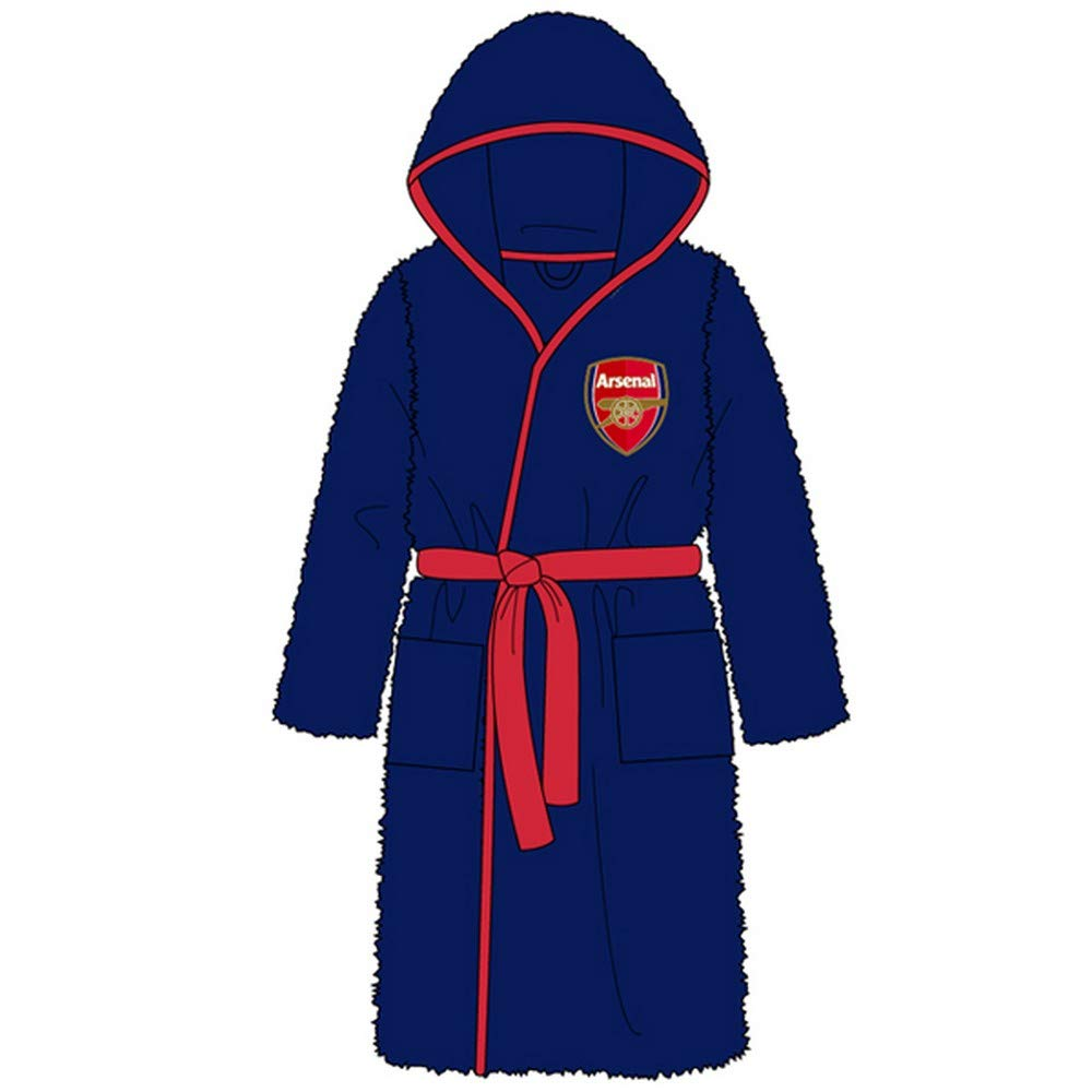 Unisex Football Arsenal FC Dressing Gown Bathrobe - Small - X-Large WH31007