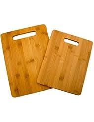 Mr Wood Bamboo Cutting Board Set 4 Board Set