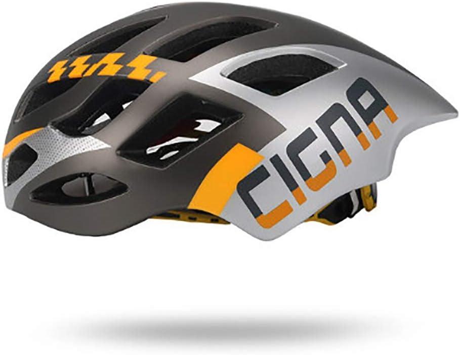Seguridad de la bicicleta para adultos Casco de la bici, ligero Mate PC Shell bicicleta / el ciclo Casco con ventilación y guarnición PerspirationRemovable y Adjustablefor carretera / montaña Comforta