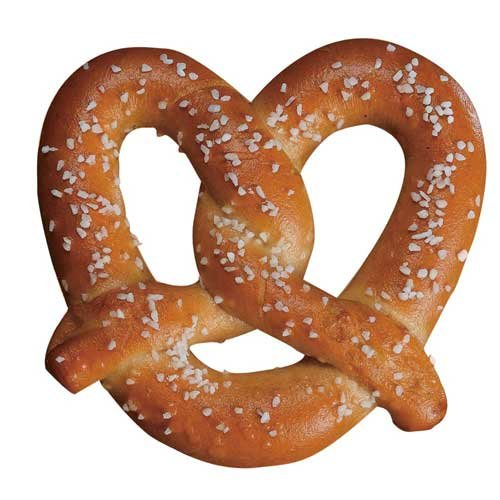 SuperPretzel 51 Percent Whole Grain Bake Soft Pretzel, 2.2 Ounce -- 120 per case. by J and J Snack
