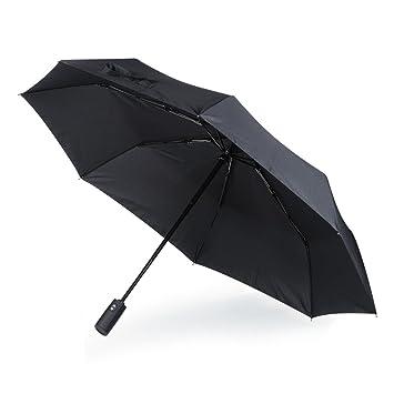 54ee33fa5484 Amazon|折りたたみ傘 ワンタッチ 自動開閉 8本骨 晴雨兼用傘 耐強風 耐 ...