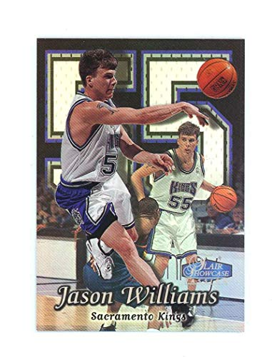 1998-99 Flair Showcase Row 2 25 Jason Williams Rookie Card Near Mint Condition Ships in New Holder