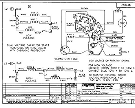 Dayton Furnace Condenser Wiring Diagram. Dayton Motor 220 Wire ... on