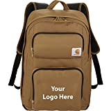 Carhartt Signature Standard 15'' Computer Backpack - 6 Quantity - $85.10 Each - PROMOTIONAL PRODUCT / BULK / BRANDED with YOUR LOGO / CUSTOMIZED