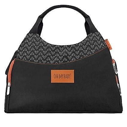Badabulle Multipocket - Bolso de maternidad con 5 bolsillos exteriores 093b79468416