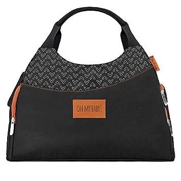 7b0c21bd5191a Badabulle Multipocket Changing Bag, Black: Amazon.co.uk: Baby