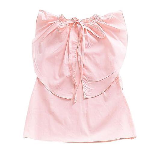 Weixinbuy Kleinkind Baby Mädchen Rundkragen Lässig Pink Kleider ...