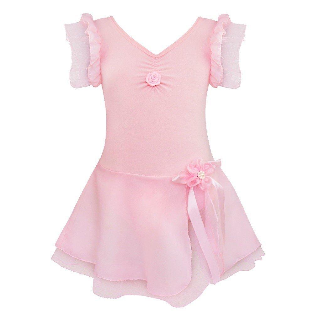 TiaoBug Kids Girls Fairy Fancy Dress Dance Costume Dancewear Ballet Gymnastic Leotard Skirt  sc 1 st  Amazon UK & Ballet Costumes: Amazon.co.uk