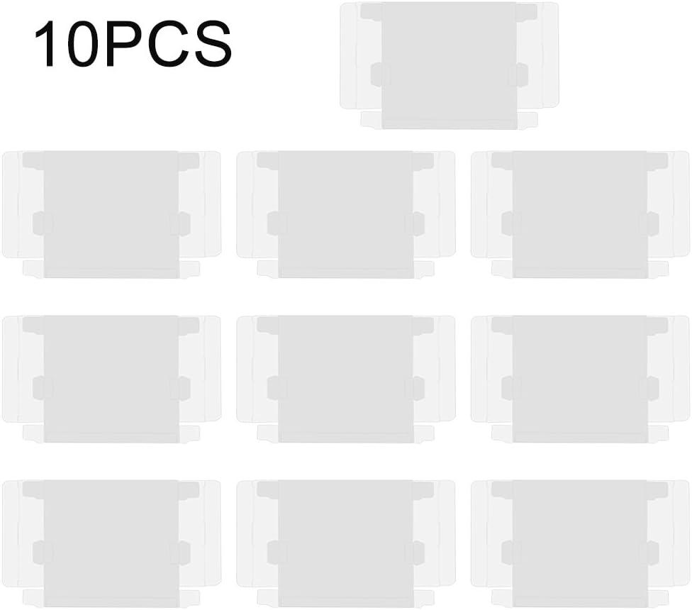 Caja Protectora de niño para Game Boy-10pcs Funda Protectora de Cartucho Transparente para Nintendo Game Boy GBA Juego en Caja
