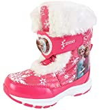 Disney Frozen Elsa Anna Forever Girls Winter Warm Pink Snow Boots Costume Shoes (Parallel Import/Generic Product)