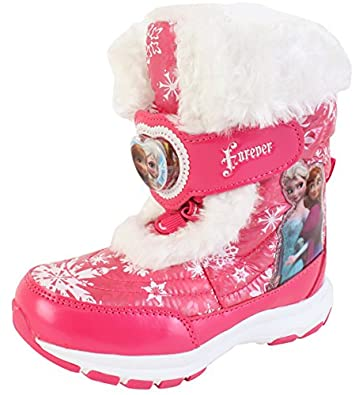 Amazon.com | Disney Frozen Elsa Anna Forever Girl's Winter Warm ...