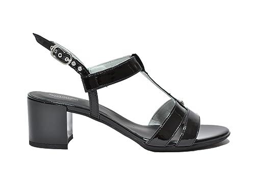 NERO GIARDINI Sandali scarpe donna nero 7610 mod. P717610D