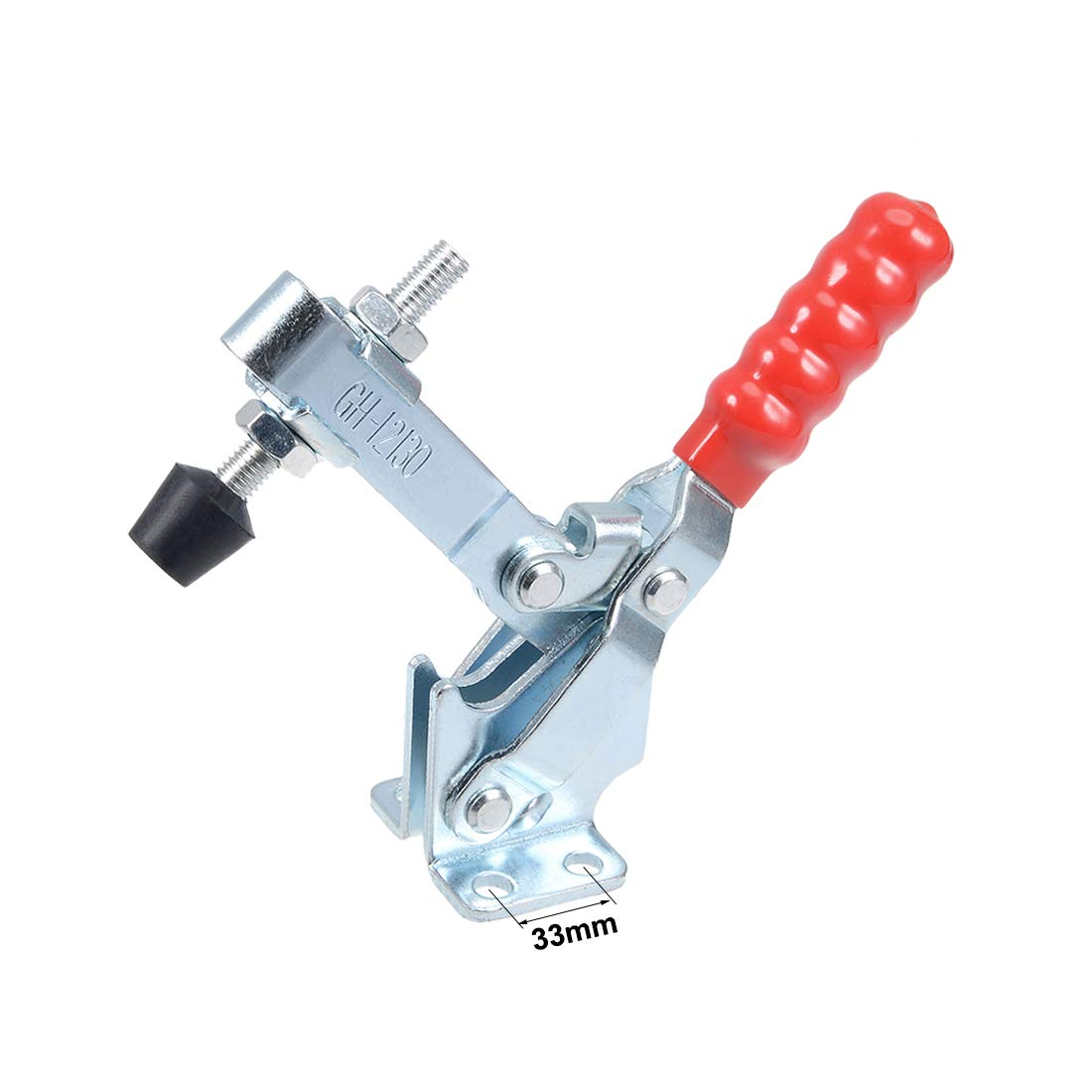 uxcell Toggle Clamp GH-12130 Vertical Quick-Release Hand Tool 227Kg//499Lbs 2pcs
