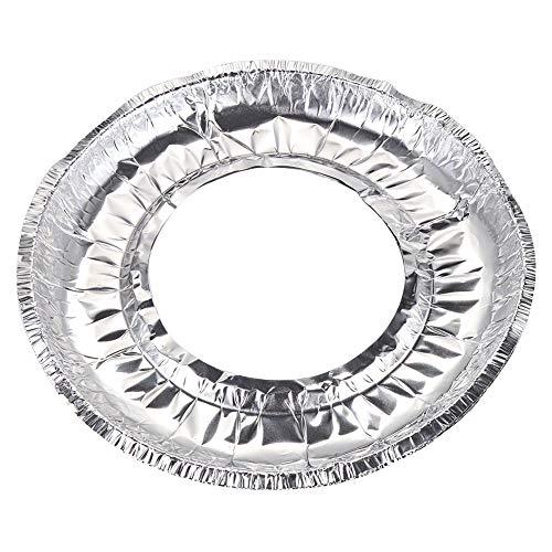 Aluminum Foil Round Stove Burner Covers, 30 Pcs 9.1