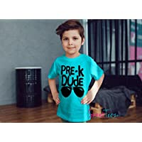 Pre-K Shirt Pre-k Dude Shirt Gift for Toddler Boy School Shirt Preschool Gift
