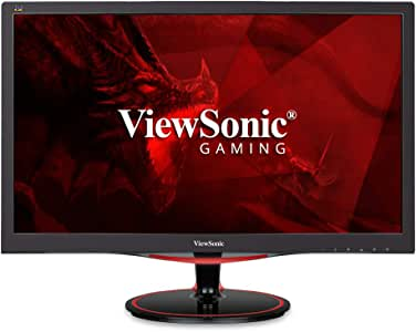 ViewSonic VX2458-MHD 24 Inch 1080p 1ms 144Hz Gaming Monitor with FreeSync Premium Flicker-Free and Blue Light Filter HDMI and DP