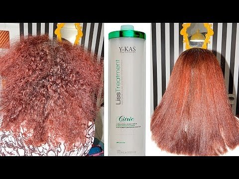 Y-Kas Citric Liss Treatmet Brazilian Keratin Hair Straightening Smoothing System Progressive Brush 1L by Y-KAS (Image #4)