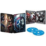 Captain America: Civil War 3D Blu Ray Exclusive Limited Edition Steelbook (Blu Ray 3D + Blu Ray + Digital HD)