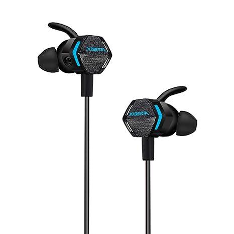 Sencillo Vida Auriculares Gaming Cascos Gaming con Dual Microfono para PS4 o PC Sonido Estéreo Cancelación