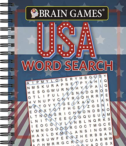 Brain Games - USA Word Search -