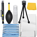 Professional Maintenance Kit For Nikon Coolpix S3600 - Mini Tabletop Tripod + LCD Screen Protector + Cleaning Set, Cleaning Tools And Accessories