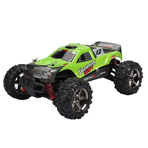 RC Car, FSTgo BG1510B Green High Speed Car Rock Crawlers 32MPH 4x4 Fast Race Cars1:24 RC SCALE RTR Racing 4WD ELECTRIC POWER BUGGY W/2.4G Radio Remote Control Off Road Car Truck (Radio Controlled Cars For Adults compare prices)