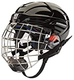 Warrior PX3HC5 Ice Hockey Players Helmet with Cage, Black, Medium