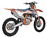 ktm 450 silencer - Yoshimura RS-4 Comp Slip-On Exhaust-KTM-SX-F 450-16-17