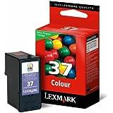 Lexmark 18C2140BL Cartouche d'encre Bleu, Rose, Jaune