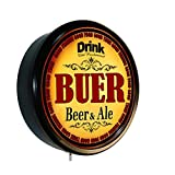 BUER Beer and Ale Cerveza Lighted Wall Sign