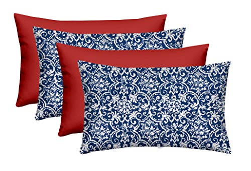 RSH Décor - Designer Indoor/Outdoor Throw Pillow Sets Americana Red, White, Blue / 4th of July/American Pride Freedom Patriotic (20