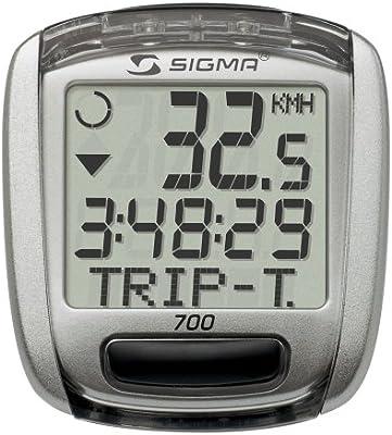 Sigma Baseline 700 Cuentakilómetros, Unisex, Gris: Amazon.es ...