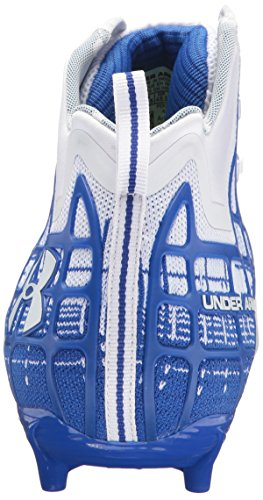 141 Men's Royal Shoe Armour Under Mid Team MC Lacrosse Banshee White 84gqgwU