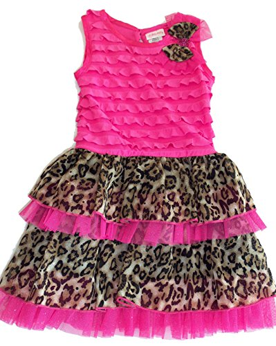 cheetah print dress for toddlers - 3
