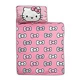 Lambs & Ivy Hello Kitty Bows Nap Mat, Pink/White