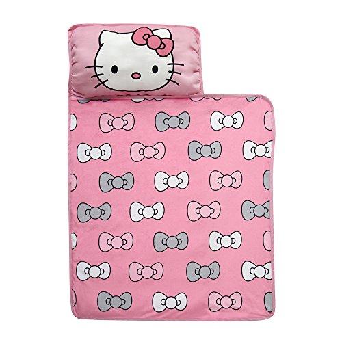 Hello Kitty Lamb Blankets - Lambs & Ivy Hello Kitty Bows Nap Mat, Pink/White