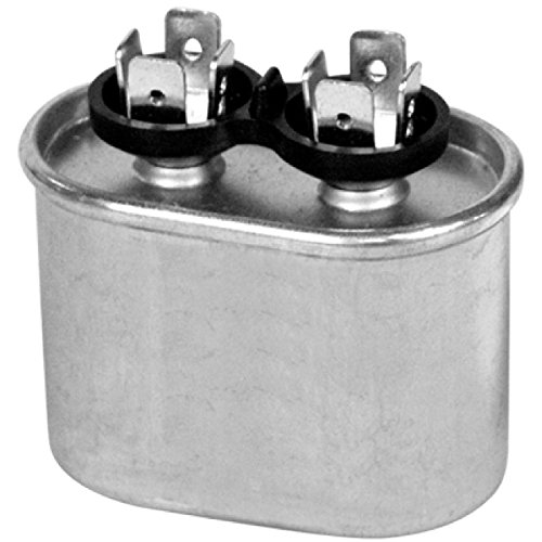 CAPACITOR 5 MFD 370 VAC OVAL ONETRIP PARTS® DIRECT REPLACEM