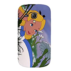 Different Special Alice in Wonderland Hard 3D Phone Case For Samsung Galaxy S3 mini