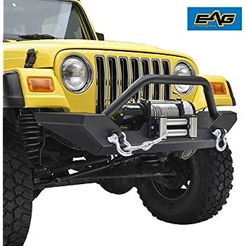 Jeep Wrangler TJ FRONT /& REAR Bumper End Cap Set Mopar