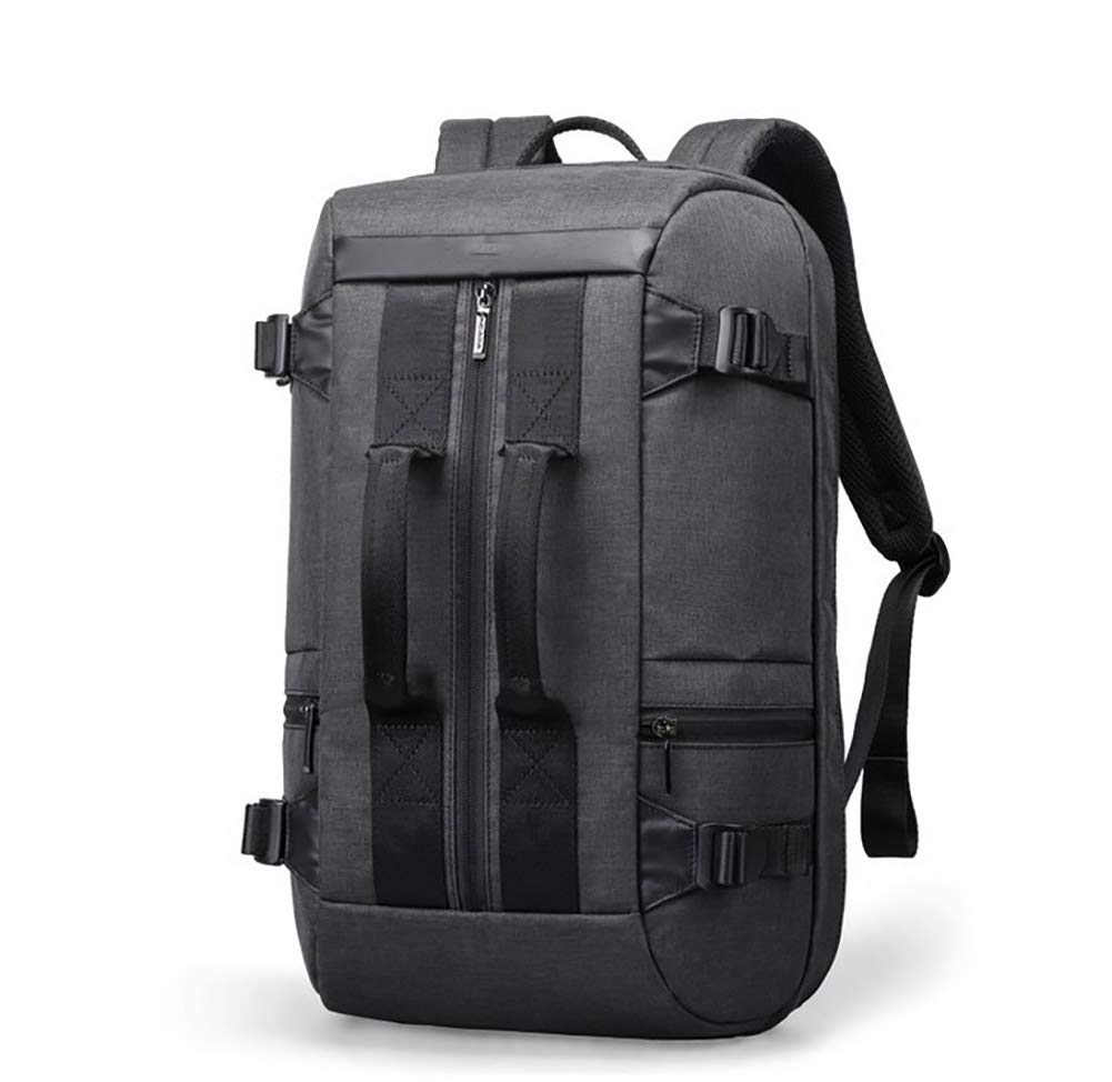 WY-AYNG Business-Reise-Rucksack, Bergsteigen Lernrucksack, Polyester Fabrik, Atmungsaktiv, Verschleißfest,schwarz Verschleißfest,schwarz Verschleißfest,schwarz 82a9bb