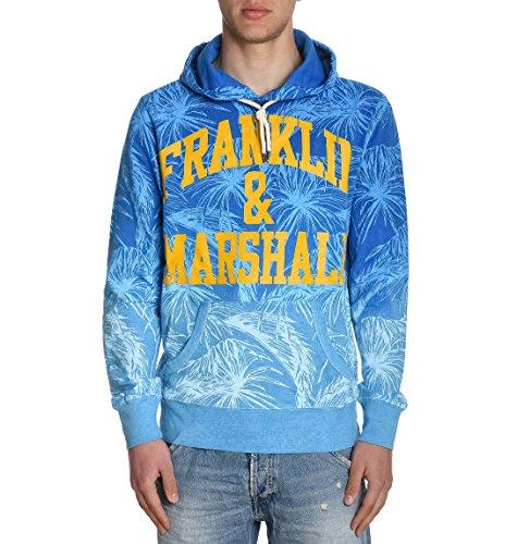 Franklin & Marshall Felpa Uomo FLMF081ANS170437 Cotone Blu
