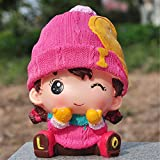 Kawaii Cute Cartoon Pink lover Female Piggy Bank Resin Personalized Baby Nursery Decor Home Furnishing decoration