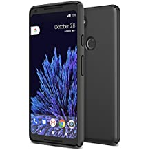 Google Pixel 2 XL Case, Maxboost [mSnap] Thin Cases [Perfect Fit] [Black] EXTREME Smooth Surface with Anti-Slip Matte Coating for Excellent Grip Hard Protective PC Covers For Google Pixel 2 XL (2017)